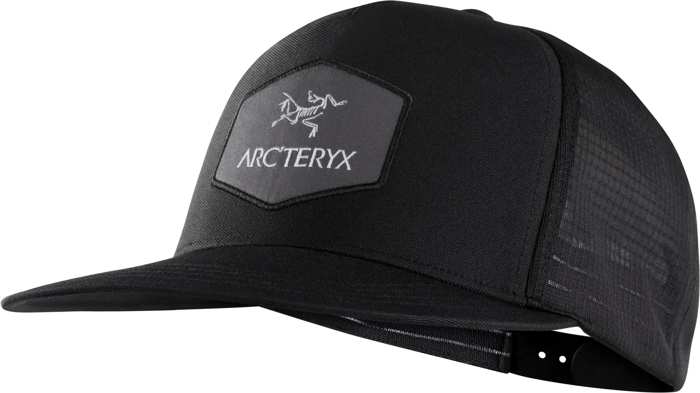 1ee52844f2b52 Arc teryx Hexagonal Trucker Hat Black - addnature.com